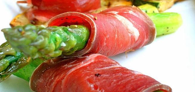 Fenalår med asparges