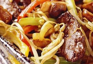 Hval i wok
