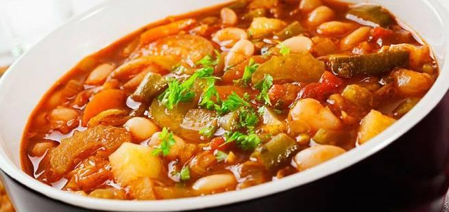 Soupe au pistou - Fransk grønnsakssuppe med pesto