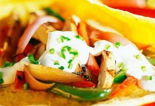 Taco med linser