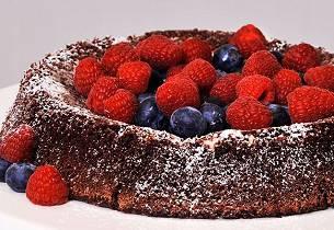 """Sukkerfri"" sjokoladekake"