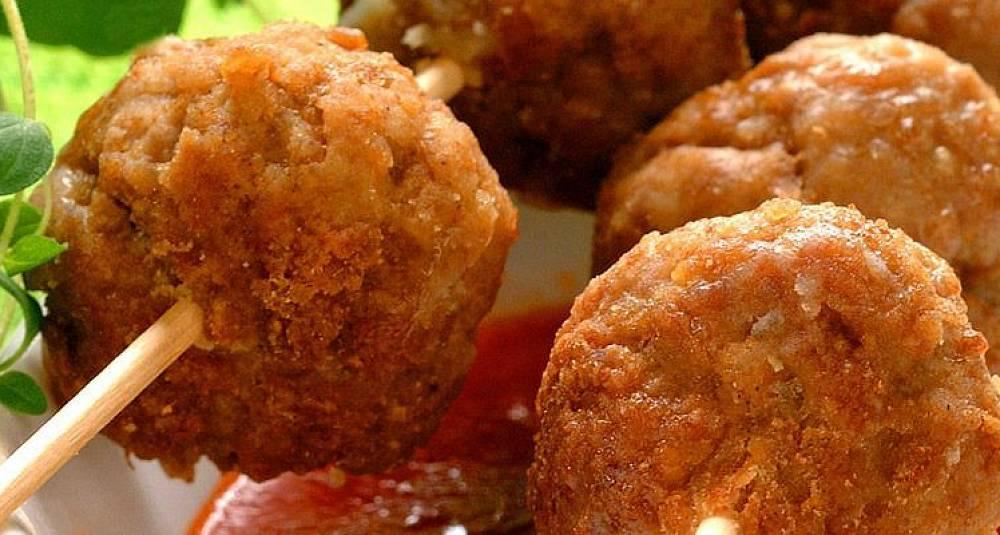Kjøttboller til tapas
