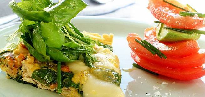 Eggepanne med kylling eller kalkun
