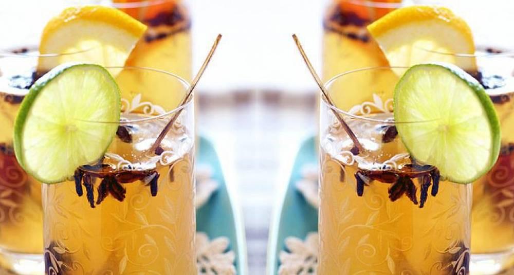 Hvit gløgg som er alkoholfri