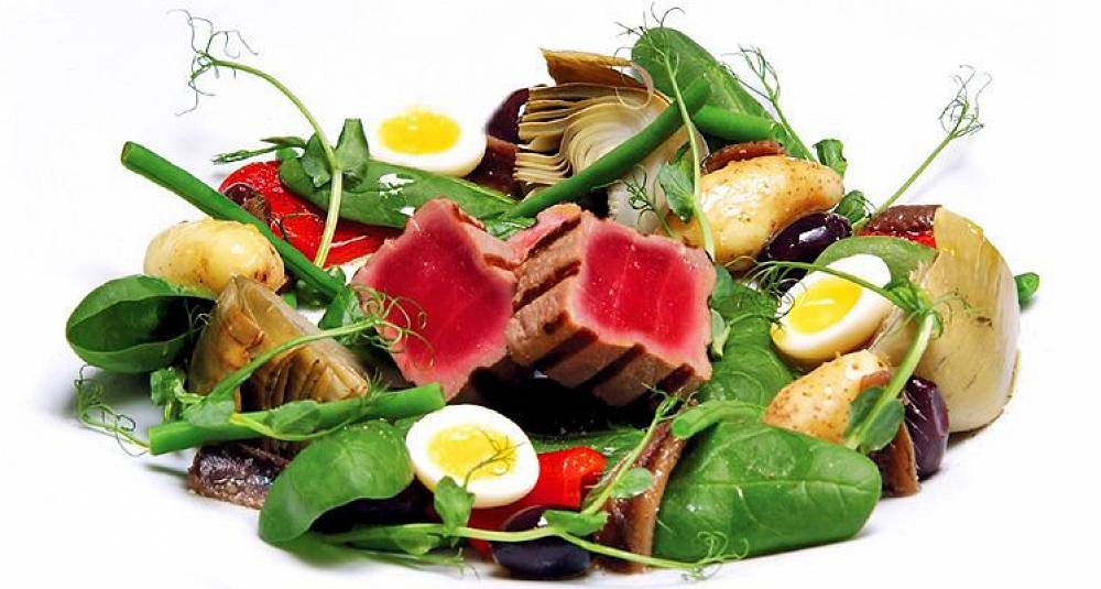 Salade niçoise/Nice-salat