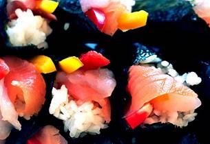 Sushi med rakefisk (Vaka - den syvende smak)