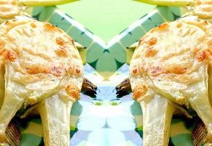 Grillet fennikel med parmesanost