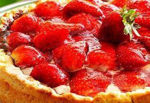 Du må prøve jordbærflan
