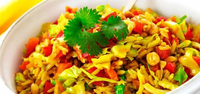 Nasi goreng - stekt ris
