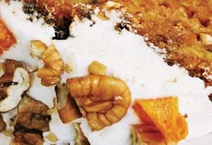 Amarula- og gulrotkake