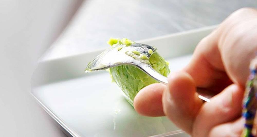 Slik lager du avocadosorbet