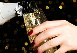 Test av ekstra tørr champagne