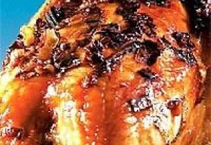 Vossakorv med persillerotrisotto og kantareller