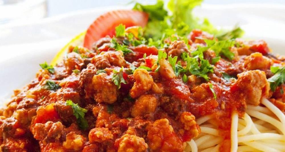 Spagetti bolognese bringer alltid middagsglede