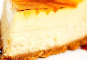 Het ostekake med karamellokk