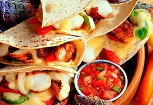 Tacos med torsk og salsa