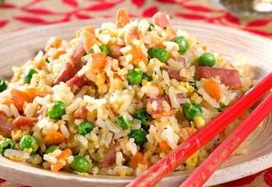 Stekt ris som i Singapore