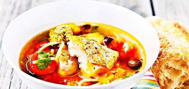 Fiskesuppe à la minestrone