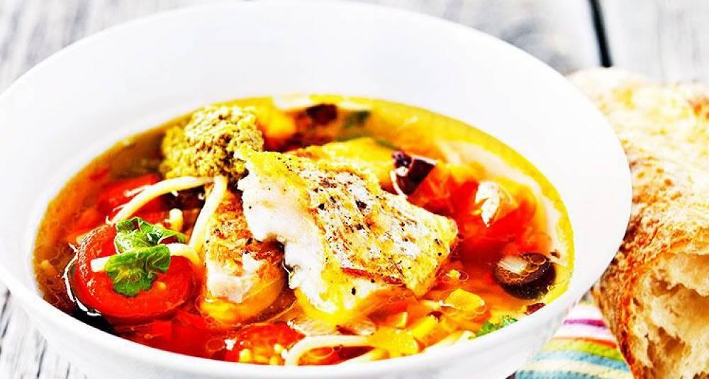 Her får du fisk og pasta i en rett