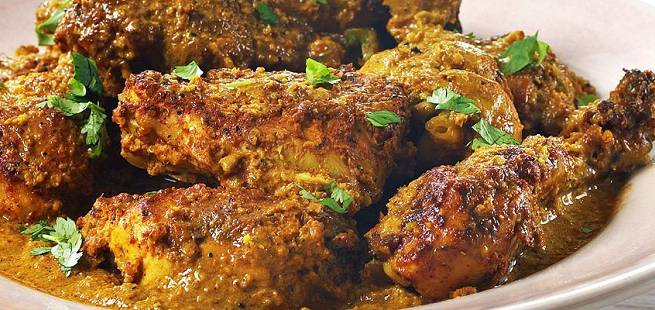 Indisk kylling tandoori