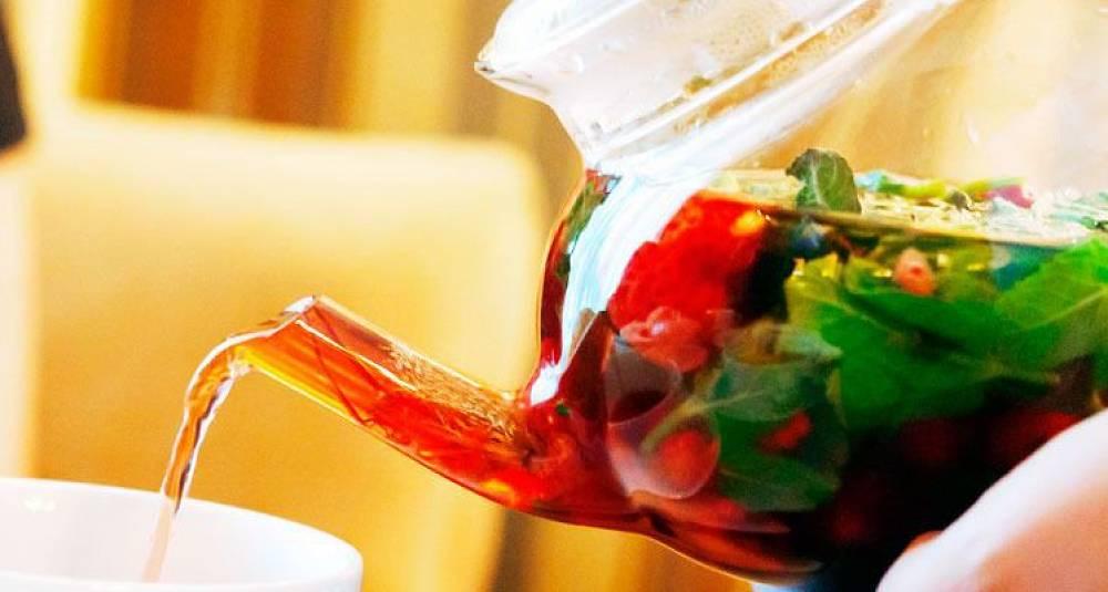 By på en boblende bowle