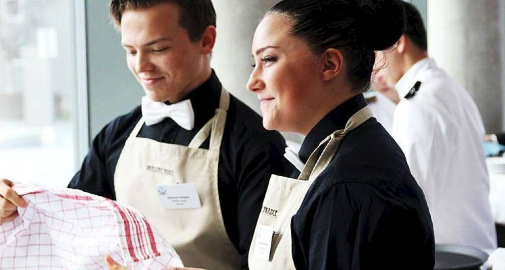 Servitør-sølv og kokke-bronse i nordisk