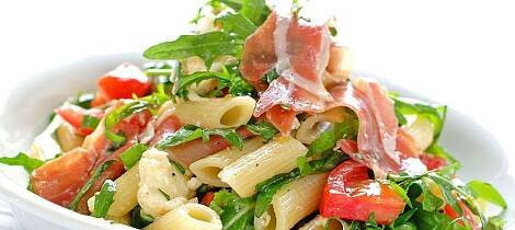Alle liker en pastasalat som denne