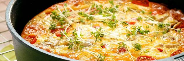 Har du prøvd italienernes svar på omelett?