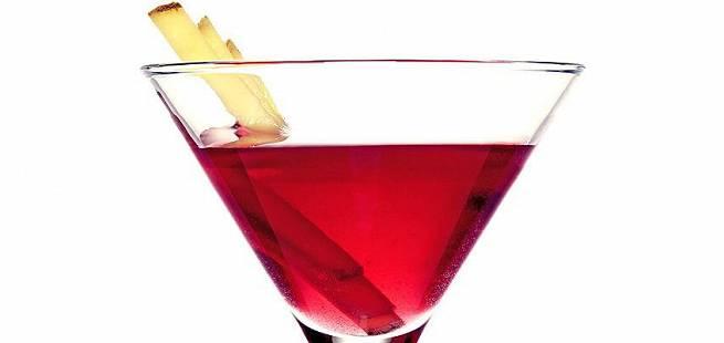 Ginger Cosmo drinkoppskrift