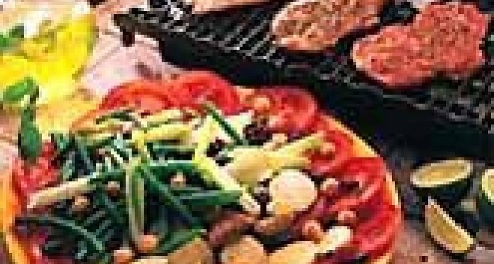 Kalv med italiensk grønnsaksfat