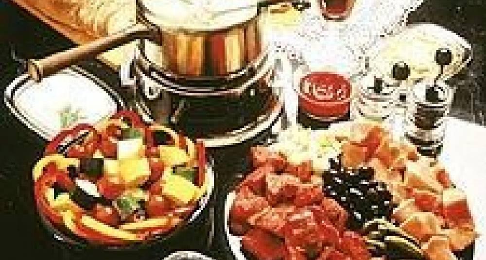 Kjøttfondue med asiatisk touch
