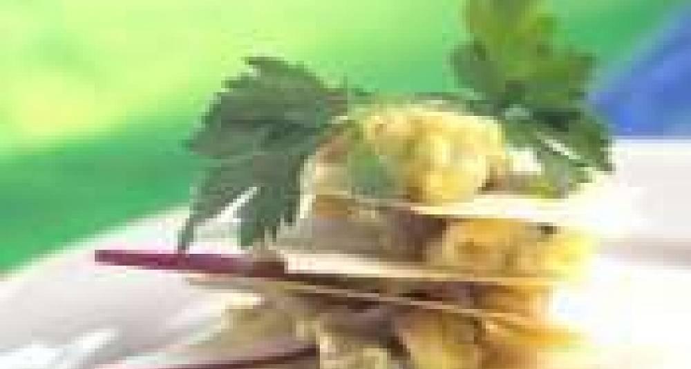 Syltelabber og grønnpeppertartar