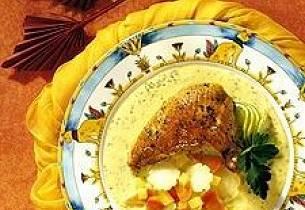 Lime-marinert kylling