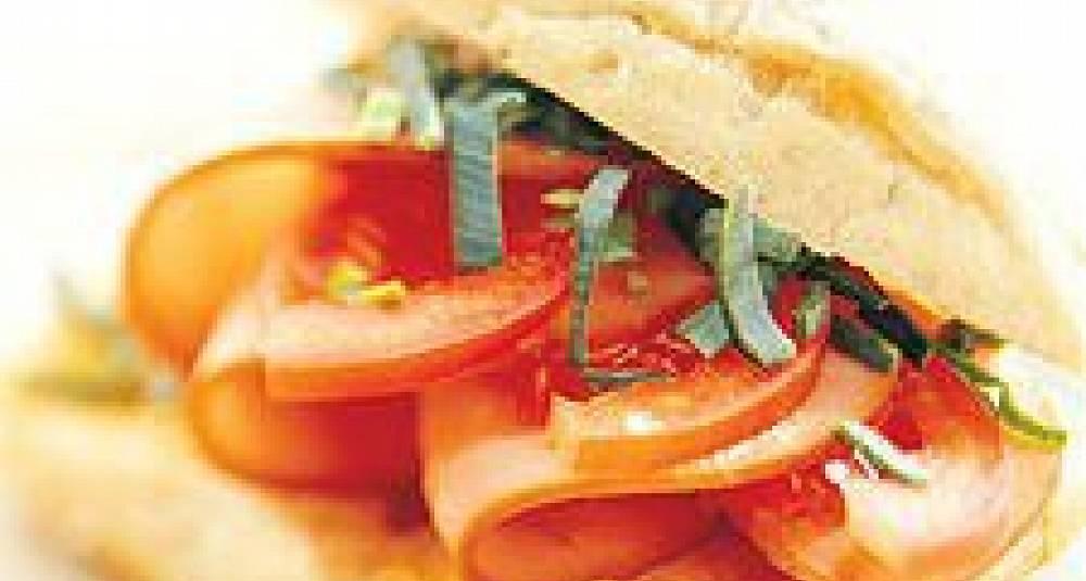 Ciabatta med hamburgerrygg