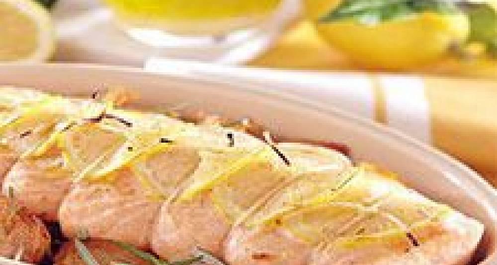 Laksestek med sitron
