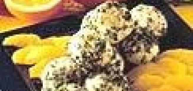 Yoghurt- og honningsorbet
