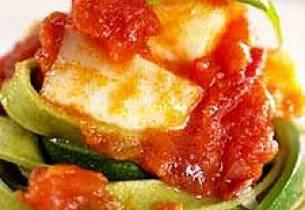 Steinbit og pasta
