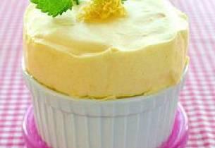 Kald sitronsufflé
