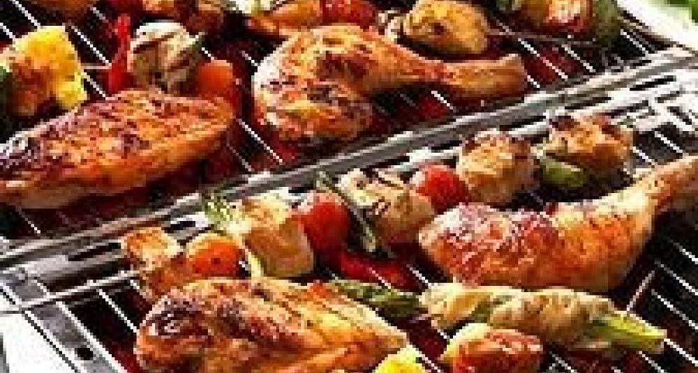 Kylling i persille- og limemarinade