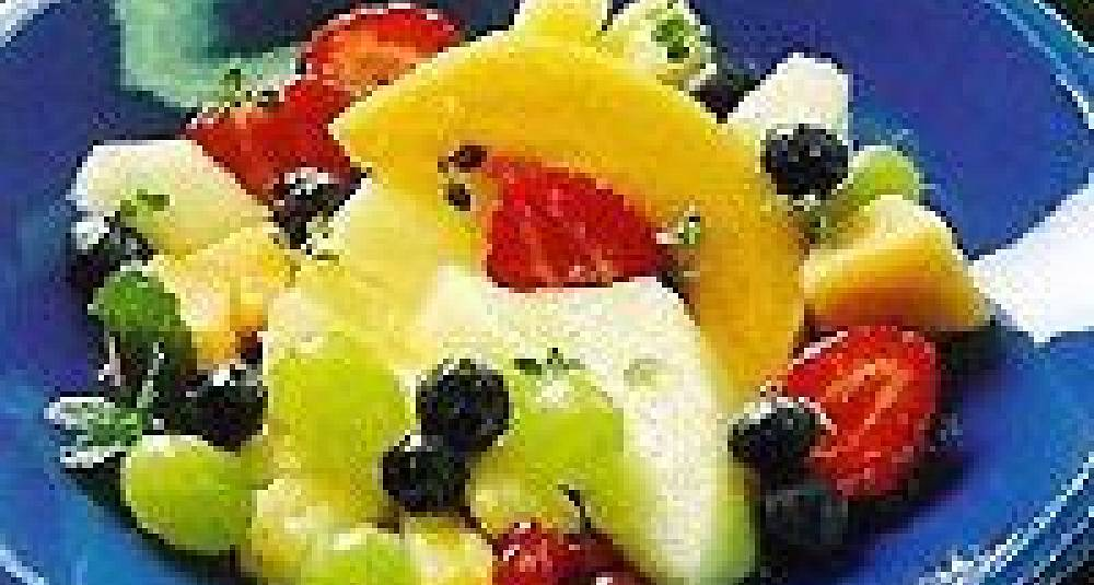 Urtemarinert fruktsalat