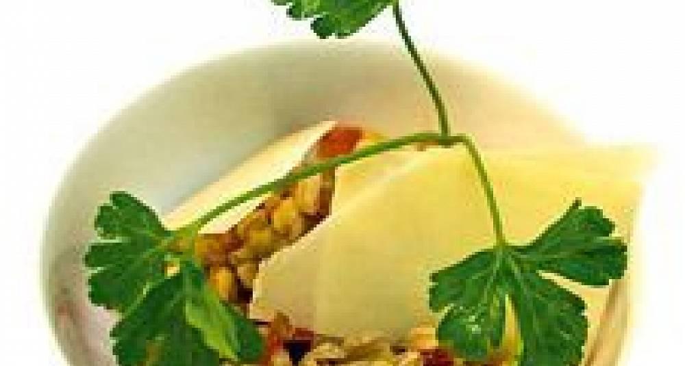 Salat med spelt