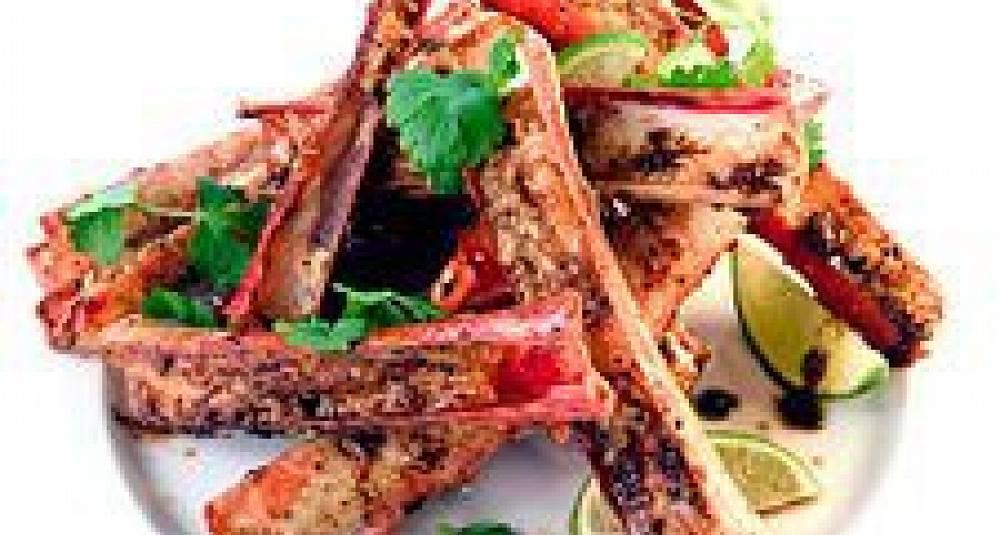 Singapore pepper crab
