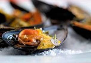 Blåskjell med Sweet Curry