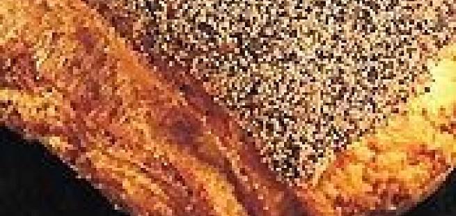Tebirks med valmuefrø