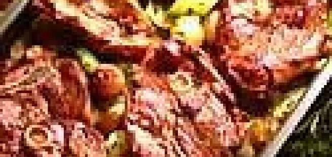 Lammeskiver på potetseng