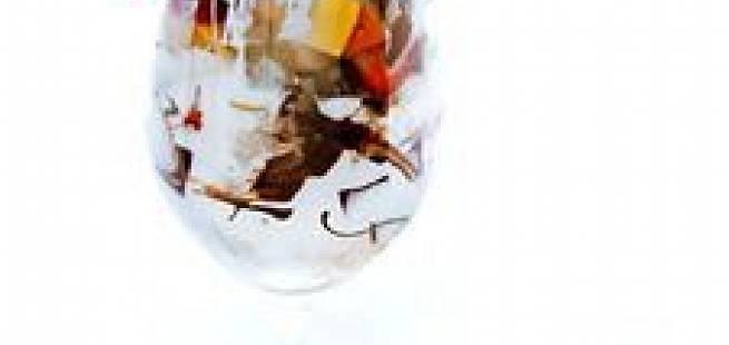 Tropisk frukt-trifle