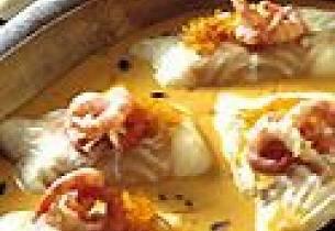 Torsk med appelsin og hummersaus