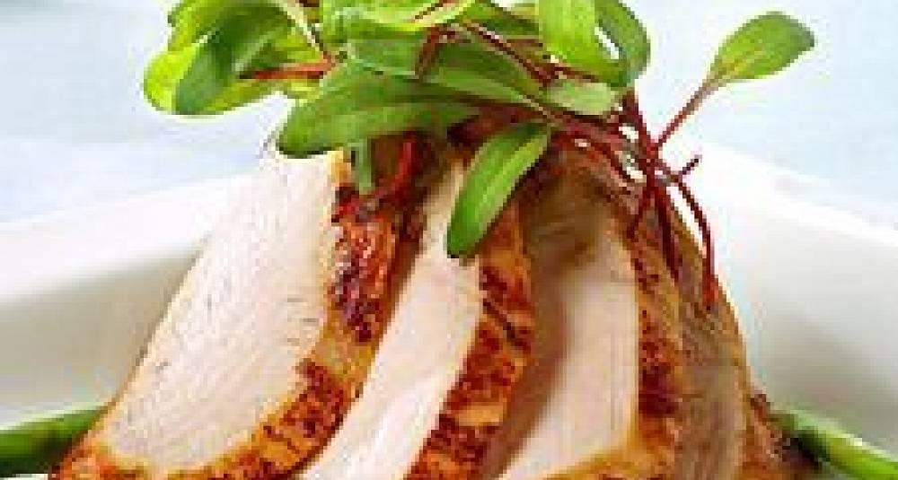 Kyllingfilet med eksotisk saus