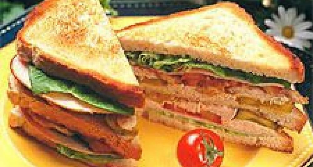 Kylling Club Sandwich