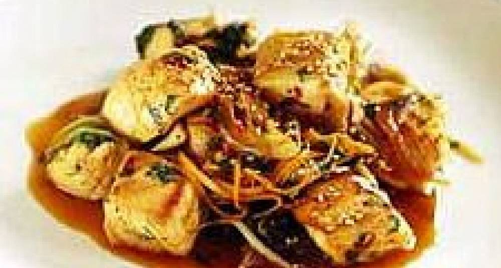 Norsk Kveite i wok